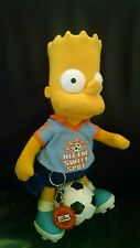 Bart Plush The Simpsons Soccer doll applause figure toy keychain official kids