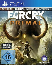 Ps4 GIOCO FAR CRY: Primal-SPECIAL EDITION (SONY PLAYSTATION 4, 2016)