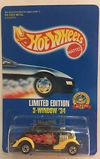 HOT WHEELS MALT O MEAL LIMITED EDITION 3 WINDOW 34!  FREE SHIPPING!