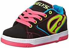 Heelys Propel Skate Shoe Little Kid/Big Kid, Black Neon, 8 M US Big Kid
