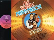 MAX BYGRAVES Max-a-million Golden Greats Of 30's LP RED VINYL Pye NSPL18526 @N/M