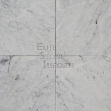 12x24 Italian Carrara White Polished Marble Tile