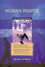 Human Rights: An Introduction by Darren O'Byrne (Paperback, 2002)