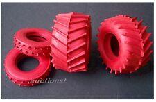 VINTAGE TAMIYA TROLL RED TIRES F / R SAND SCORCHER SUPER CHAMP FROG HORNET