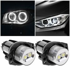 2X Error Free CREE Angel Eyes LED Halo Ring Light Bulbs For BMW E90 E91 3 Series