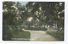 Fountain, City Park, Valley City, ND c. 1910 North Dakota