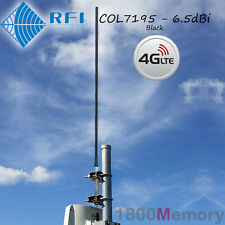 RFI COL7195 Multi-Band High Gain 6.5dBi Antenna CD7195 10m RG58 Cable 4G LTE 4GX