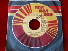 GREG PERRY~ COME FLY WITH ME~ RARE PROMO~ MINT~RCA 11172~IN DEMAND NOW ~ SOUL 45