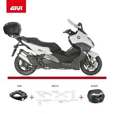 Bmw C 650 Sport  2016 GIVI SR5121 RACK KIT + E340 VISION TECH TOP BOX CASE + M5M