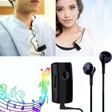 Clip-on Bluetooth 3.0 Stereo Headset Earphone Headphone for iPhone Samsung HTC