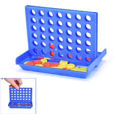 Connect Four In A Row 4 In A Line Board Game Kid Children Fun Educational Toy FG