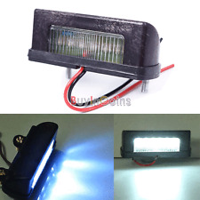 12V LED Number Licence Plate Light Rear Tail Lamp Truck Trailer Lorry White