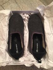 Mahabis classic Larvik gray slippers Euro size 39/40