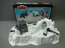 Vintage Star Wars Imperial Attack Base Playset Complete w/Box Set A