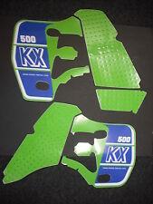 Rad & Tank Decals Kawasaki KX500 KX 500 1989 Graphics Stickers
