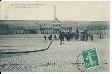 CPA -75 - PARIS - Entrée de L'ecole Militaire et Ecole Superieure de Guerre