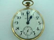 SCARCE 1909 HAMILTON DOUBLE ROLLER 992 21 JEWELS HIGH GRADE POCKET WATCH.