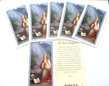 Lot of 25 Holy Cards, Prayer Cards of St. Mary Magdalene
