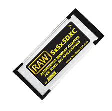 Hoodman RAW Memory Card SxS Adapter SxSxSDXC