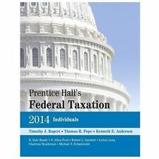 Prentice Hall's Federal Taxation 2014 Individuals (27th Edition)