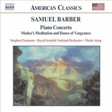 Samuel Barber: Piano Concerto; Medea's Meditation and Dance of Vengeance, New Mu