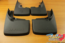 09-2016 Dodge Ram Front and Rear Deluxe Molded Splash Guards Mud Flaps Mopar OEM