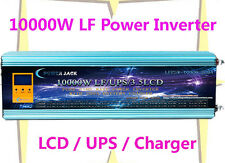 "40000W/10000W LF Pure Sine Wave Power Inverter 24VDC/110V AC 3.5""LCD/UPS/Charger"