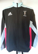 HARLEQUINS RUGBY PRESENTATION JACKET BY ADIDAS ADULTS SIZE XXXL BRAND NEW