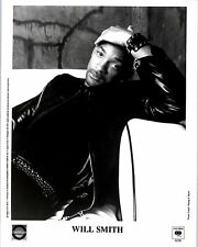 RARE Original Press Photo of Will Smith a Hip Hop Singer Songwriter