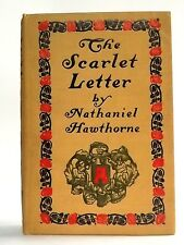 Antique 1900 The Scarlet Letter by Nathaniel Hawthorne Engraving Ill