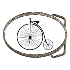 PENNY FARTHING CLASSIC BICYCLE BELT BUCKLE - GREAT GIFT ITEM