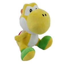 "1x Official Nintendo Super Mario Series 6"" Yellow Yoshi Plush Little Buddy USA"