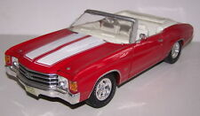 1:18 Maisto Chevrolet Red 1972 Chevelle SS 454 Convertible Item 31892