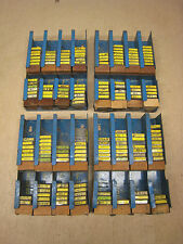 300+ New Cooper Bussmann Buss ABC AGC AGX MDA MDL MDX Fuses w/ Display Rack Lot