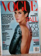 VOGUE Magazine SANDRA BULLOCK Perfect FALL WARDROBE 168 New Looks Oct13 $5