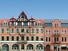 Auhagen 42501 Set mit 5 Bürgerhaus-Fassaden, H0/TT