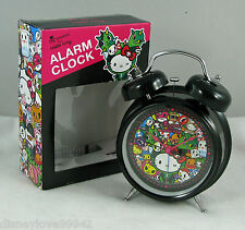 TOKIDOKI Hello Kitty 2014 Reunion 1ST TIME EVER ALARM CLOCK Sandy Center NIB