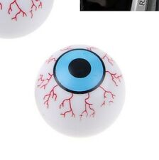 Eyeball Eye Tyre Wheel Valve Car Bike BMX Dust Caps x4 Dustcaps Retro Funny VW