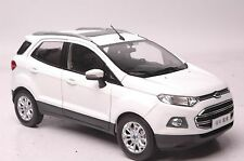 Ford Ecosport car model in scale 1:18 white
