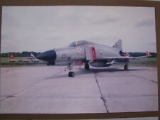 Photo McDonnell Douglas F-4 Phantom ll Luftwaffe Open Dag KLu Vlb Deelen 1983