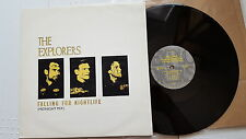 THE EXPLORERS - Falling For Nightlife / Crack The Whip UK SYNTH POP Roxy Music