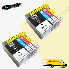 8PK 920 XL Ink Cartridge For HP 920XL Officejet 6000 6500 6500a 7000 7500a chips