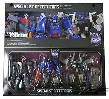 Transformers Henkei Generations G1 Specialists Galvatron Octane Astrotrain UK