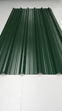 Box Section roofing, Juniper Green, Polyester coated, 0.5mm, Metal Sheet