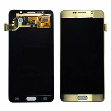 Gold LCD Touch Screen Digitizer Assembly Replacement for Samsung Galaxy Note 5