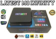 Último Infinity M8S Quad Core Android Smart Mini PC TV Caja XBMC WiFi