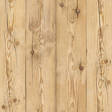 Wood Grained Self Adhesive Wallpaper Rustic Plank Contact Paper Home Decor Sheet