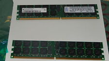 4GB RAM PC2-3200R-333 DDR2-400 MHZ 2x 2GB ECC REGISTERED 73P2867 SERVER WORKStat