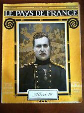 Le Pays De France du 21/01/1915 Loraine/ Aisne/ Flandre/...