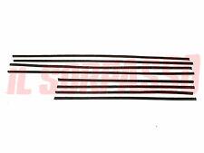 GUARNIZIONI PROFILI RASAVETRI PORTE FIAT 1100 103  H - 103 D - SPECIAL - EXPORT